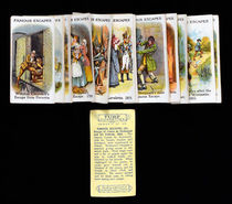 Famous Escape Cigarette Cards