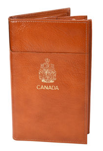 Leather Passport Type Le Paul Wallet