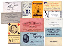 Miscellaneous Business Cards
