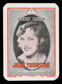 Jane Thurston Throw-Out Card
