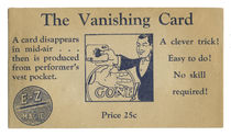 The Vanishing Card, E-Z Magic