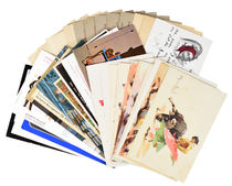 Collection of Magicians' Postcards