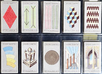 Ringer's Cigarettes Optical Illusion Cards