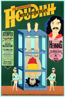 The Sensational Houdini Water Torture Cell Escape