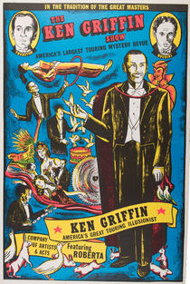 The Ken Griffin Illusionist Show Poster