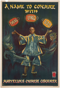 Chung Ling Soo, A Name to Conjure With Poster