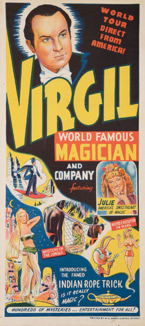 Virgil, World Famous Magician