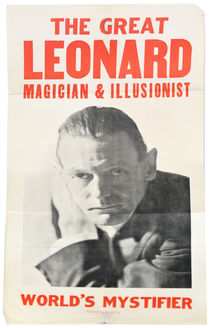 The Great Leonard Poster