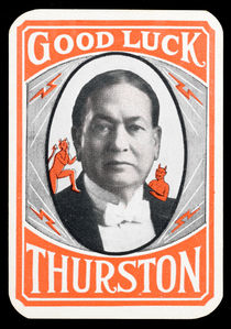 Harry Thurston Throw-Out Card