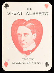 The Great Alberto Throw-Out Card