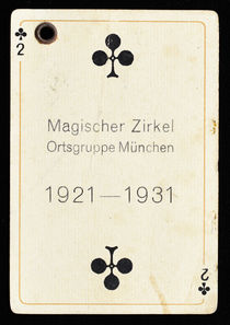 Playing Card Program Attachment, Zirkel