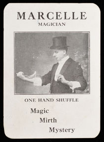 Marcelle: Magician Throw-Out Card