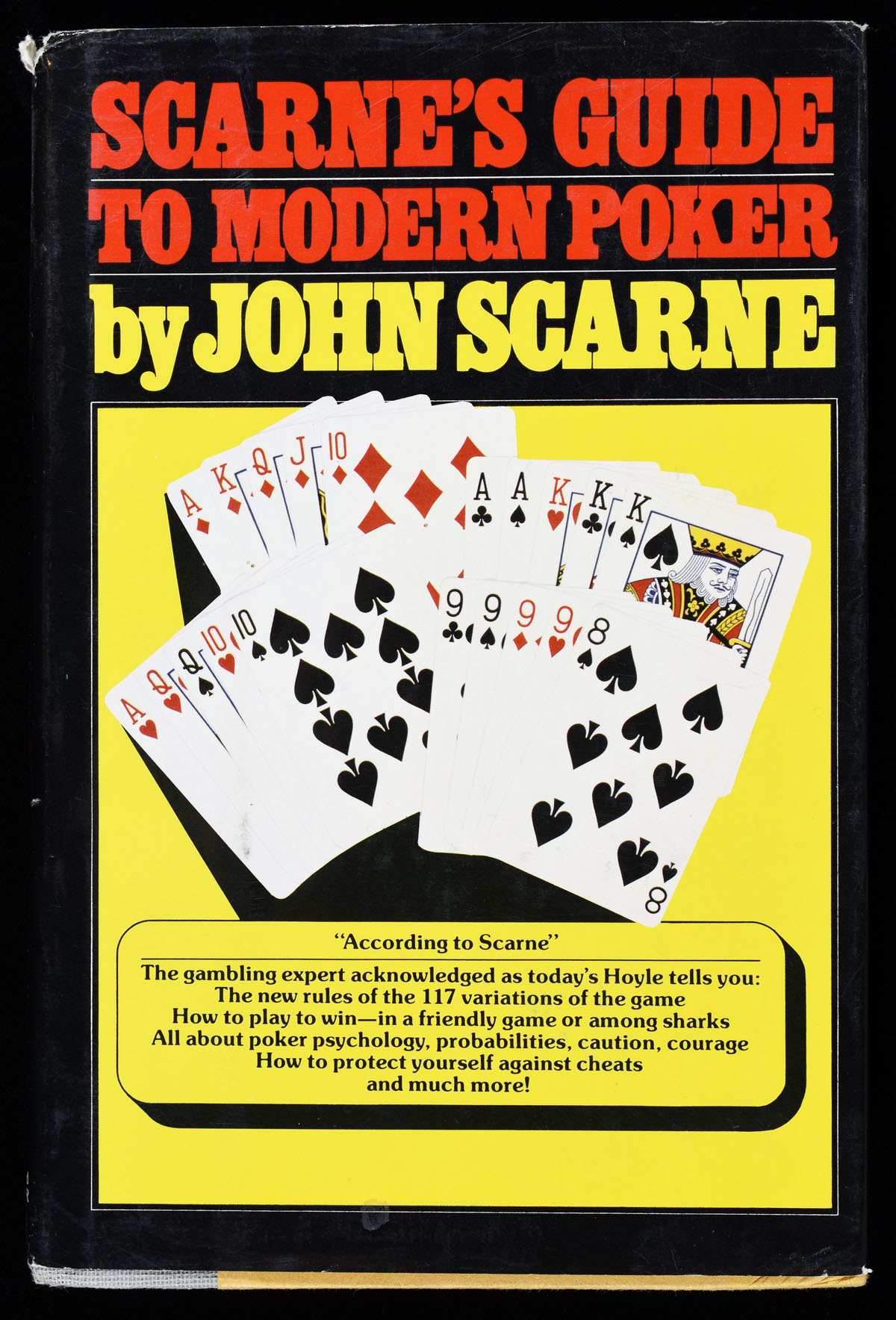 Scarnes Guide to Modern Poker