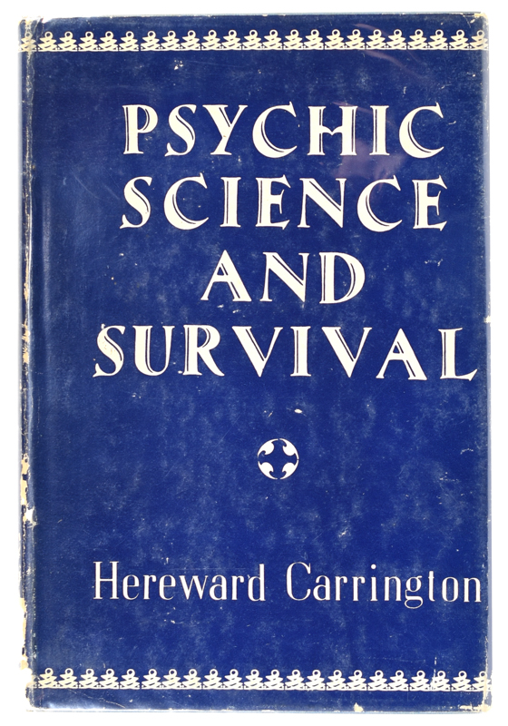 Psychic Science and Survival - Quicker than the Eye