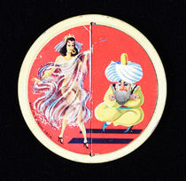 Risque Dancer Souvenir Pocket Mirror