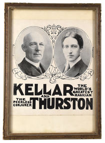 Kellar and Thurston Flyer, Framed