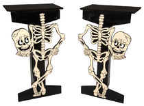 Pair of Skeleton Tables