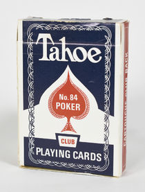 Tahoe No. 84 Playing Cards (Blue)