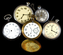 Group of Miscellaneous Fake Pocket Watches