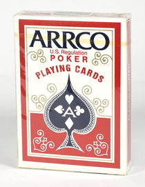 Arrco Poker Playing Cards Sealed Deck