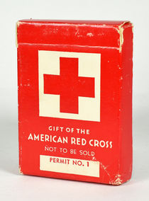 American Red Cross Gift Playing Cards