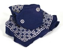Navy Blue Glass Vanish Bandana