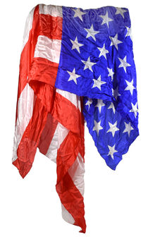 Giant American Flag Silk