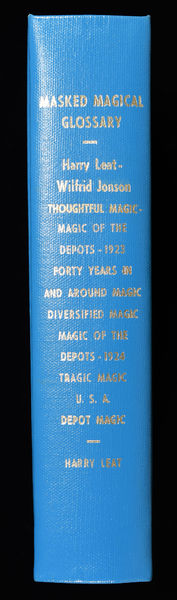 Masked Magical Glossary (Harry Leat Publications)
