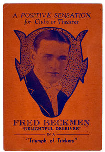 Fred Beckmen Business Card