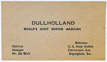 Dullholland Business Card