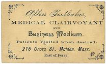 Allen Foothaker Business Card