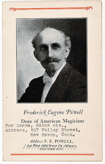 Frederick Eugene Powell Business Card