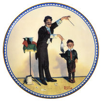 The Magician Plate