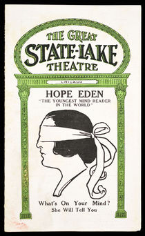 The Great State-Lake Theatre Presents Hope Eden