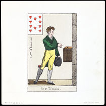 Le 2nd Temoin, Garcon d'Honneur (Ten of Hearts) Illustration