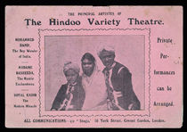The Principal Artistes of the Hindoo Variety Theatre
