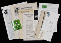 Collection of Mulholland Ephemera