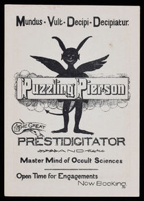 Puzzling Pierson Business Card