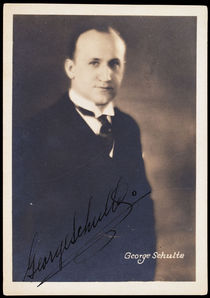 George Schulte Portrait (Signed)