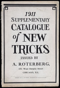 Supplementary Catalogue of New Tricks