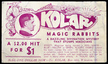 Kolar: Magic Rabbits Postcard