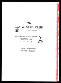 The Wizard Club of Chicago Programs