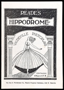 Dorny at Reade's Hippodrome Program