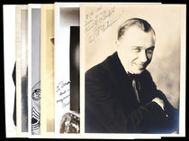 Group of Magicians' Photographs Signed to Dorny