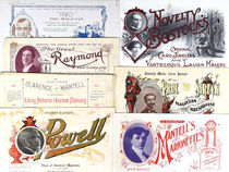 Group of Portrait Magicians' Letterheads