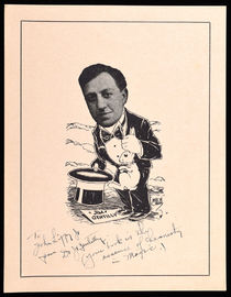 """Jim"" Gentilly Signed Illustrated Portrait"