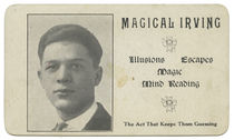 Magical Irving Business Card