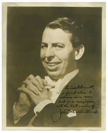 John Mulholland Signed Photograph