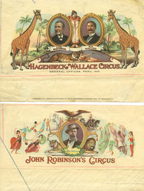 Two Circus Letterheads