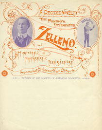 Zelleno, A Decided Novelty Letterhead
